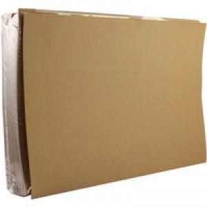 Q-Connect Square Cut Folder 170gsm Kraftliner Foolscap Buff