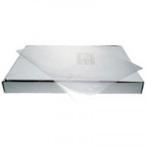 Q-Connect Cut Flush Folder A4 Pack of 100 Clear