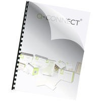 Q-Connect Binding Comb Covers 150micron A4 Pack of 250