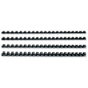 Q-Connect Binding Comb 16mm Black Pack of 50 KF24024
