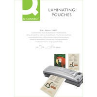 Q-Connect Laminating Pouch A4 Matt 125micron Pack of 100