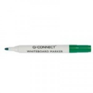 Q-Connect Dry Wipe Marker Green