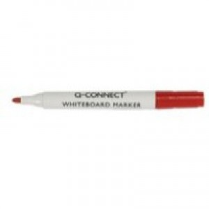 Q-Connect Dry Wipe Marker Red