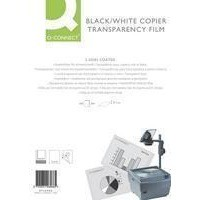 Q-Connect OHP PPC Film Paper-Backed Long Edge Pack of 100