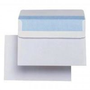 Q-Connect Envelope C6 90gsm White Self-Seal Pack of 1000 KF3472