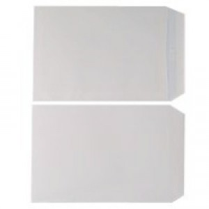 Q-Connect Envelope C4 90gsm White Self-Seal Pack of 250 KF3499