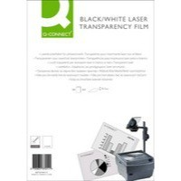 Q-Connect OHP Laser Printer Film A4 Pack of 50