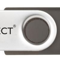 Q-Connect 4GB USB Flash Drive White QCONFD4GBEVO