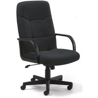 Arista High Back Manager Chair Charcoal