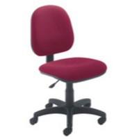 Jemini Medium Back Operator Chair Claret