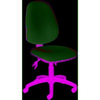Image for Jemini High Back Tilt Operator Chair Claret