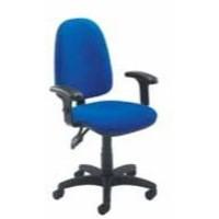 Jemini High Back Tilt Operator Chair Blue