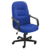 Jemini High Back Managers Chair Royal Blue