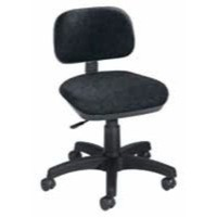 Jemini Gas-Lift Typists Chair Charcoal
