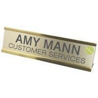 Q-Connect Custom Door/Desk Name Plate 250x50mm