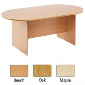 Arista 1800mm Rectangular Meeting Table Beech KF72039
