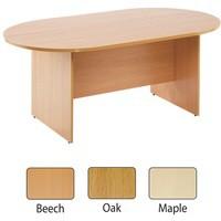 Arista 1800mm Rectangular Meeting Table Maple