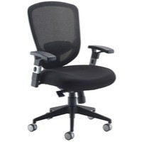 Arista Mesh High Back Task Chair Black