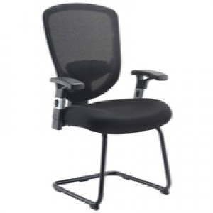 Arista Mesh Visitor Chair Black KF72247