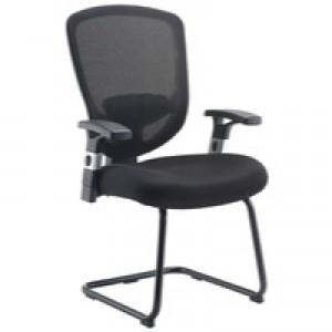 Arista Mesh Visitors Chair Black KF72247