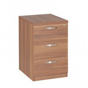 Avior 3-Drawer Mobile Pedestal Cherry KF72287