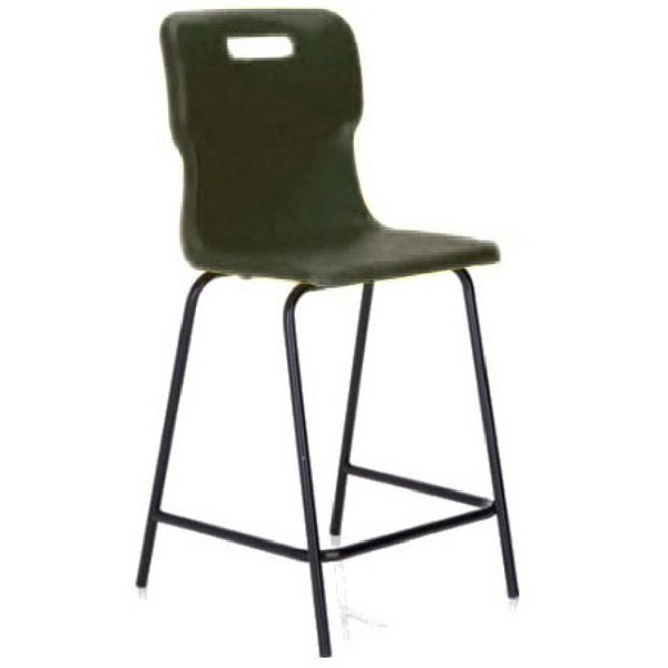 Titan Polypropylene High Chair 560mm Charcoal T61