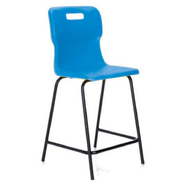 Titan Polypropylene High Chair 685mm Blue T63