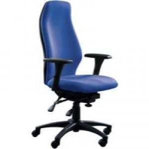 Avior Super Deluxe Extra High Back Posture Seat Blue Cq100/Il/Adj3