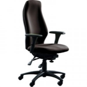 Avior Super Deluxe Extra High Back Posture Chair Black KF72589