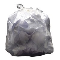 Q-Connect Square Bin Liner White Pack of 1000