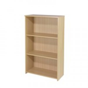 Jemini 1200mm Medium Bookcase Oak KF73513