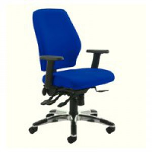 Cappela Agility High Back Posture Chair Blue KF73886