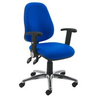 Jemini Plus High Back Operator Chair Blue