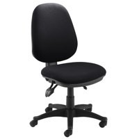 Jemini Plus Deluxe High Back Operator Chair Charcoal