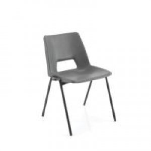 Jemini Classroom Chair Charcoal  430mm KF74994