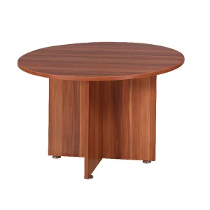 Avior 1200mm Round Meeting Table Cherry KF838267