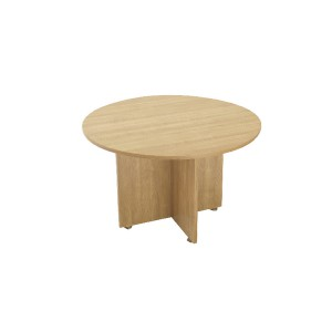 Avior 1200mm Round Meeting Table Ash KF838268