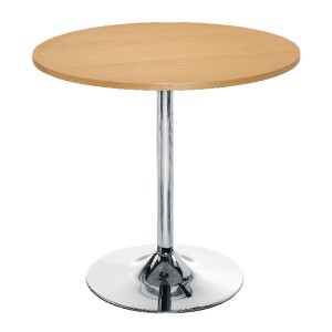 Arista Small Bistro Trumpet Table Beech KF838282
