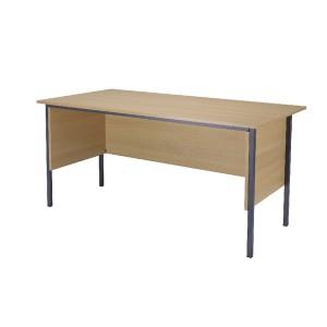 Jemini 1500mm 4 Leg Desk Ferrera Oak KF838370
