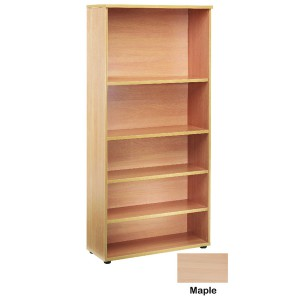 Jemini 2000mm Bookcase 4 Shelf Maple KF838423