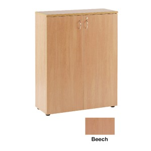 Jemini 1000mm Cupboard 1 Shelf Beech KF838425