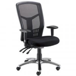 Avior 24-Hour High Back Mesh Operator Chair Black 09HD05