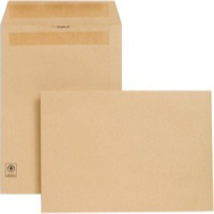 New Guardian Envelopes Heavyweight Pocket Press Seal Manilla C4 [Pack 250]