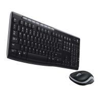 Logitech MK260 Wireless Desktop Keyboard/Mouse Set Black 920-002997
