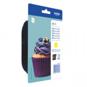 LC123Y Yellow Ink Cartridge