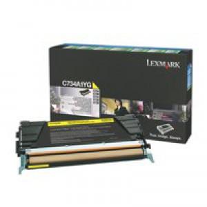 Lexmark C734A1YG RTN Yellow Toner