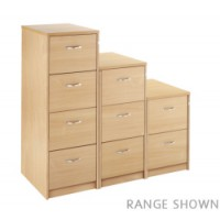 Image for 3 Draw Filing Cabinet - Maple