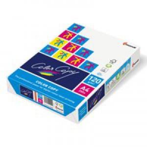 Color Copy Copier Paper Premium Super Smooth Ream-Wrapped 120gsm A4 White Ref CCW0330 [250 Sheets]