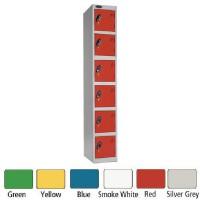 Image for Lion Steel 6 Door Locker 305x305mm Blue 701212/6