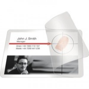 Pelltech Self-Laminating Card 66x100mm Pack of 100 PLG25250